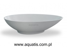 CLEAR WATER BATHS teardrop small wanna wolnostojąca 1690 x 822 x 495 mm M10F